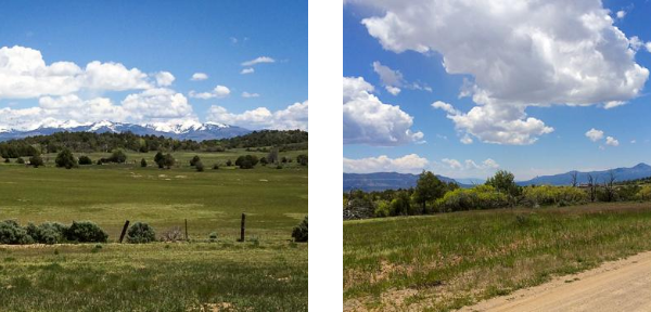 160 acres for sale in Southwest Colorado.